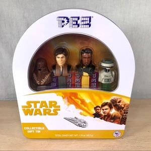 2018 Star Wars PEZ Dispenser Set & Collectible Tin